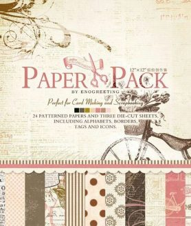 DIY Scrapbook Paper 30.5 x 30.5 cm