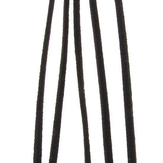 Шнур естествен велур 3 mm