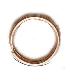 Бижутерска алуминиева тел 5 x 1 mm