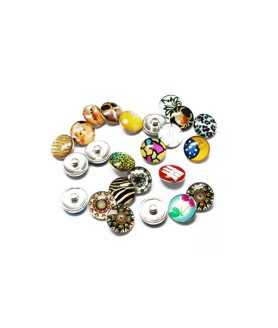 Snap buttons 18 mm