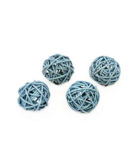 Дървени сухи топки за декорация 30 mm