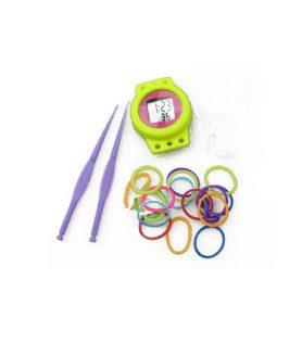 Комплект ластички асорте за плетене на гривни с часовник