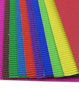 Гофриран картон за апликация 20 x 30 cm A 4