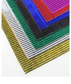 Гофриран картон за апликация  АСОРТЕ 20 x 30 cm A 4