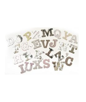 Комплект за декорация букви
