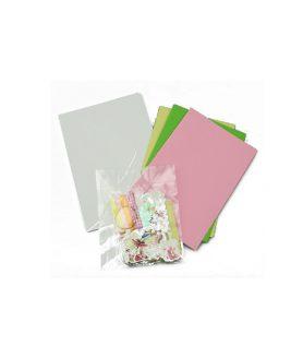 Скрапбук картички за декорация 11.5 x 17 cm
