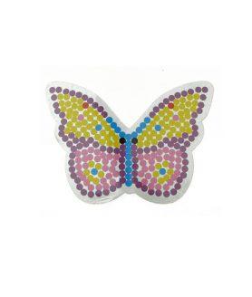 Шаблон за мозайка - пеперуда 93 x 126 mm