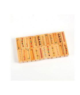 Дървен печат 45 x 14 mm