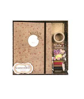 Комплект Скрапбук албум за декорация 15.5 x 22 cm