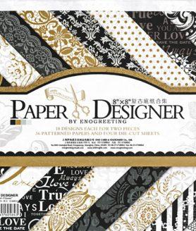 Дизайнерска хартия 20.3 x 20.3 cm