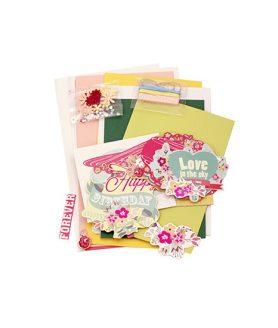 Скрапбук картички за декорация 11.5 x 17 cm, 11.5 x 21 cm
