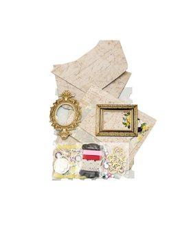 Комплект рамки за снимки с декорация 25 x 17 cm, 13.8 x 16.8 cm