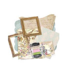 Комплект рамки за снимки с декорация 20 x 17 cm, 13.8 x 16.8 cm