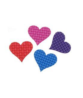 Елемент декорация - сърце за лепене  32 x 34 x 2 mm