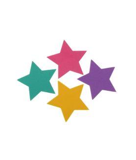 Елемент декорация - звезда за лепене 60 x  2 mm