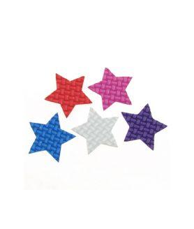 Елемент декорация за лепене - звезда 32 x  2 mm