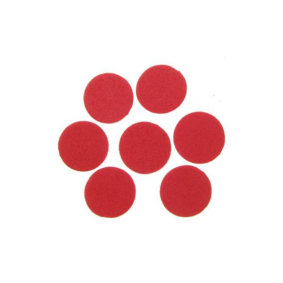 Елемент декорация за лепене - кръг 15 x  2 mm