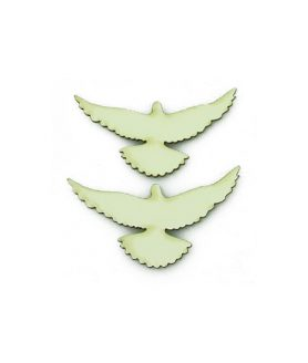 Eлементи за декорация  от МДФ гълъб 30 x 60 x 1 mm