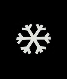Eлементи за декорация  от МДФ снежинка 96 x 1 mm