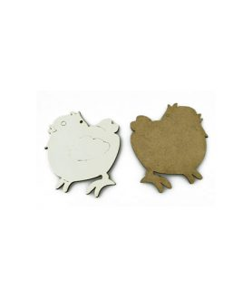 Eлементи за декорация  от МДФ пиле 68 x 70 x 3 mm