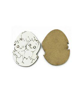 Eлементи за декорация  от МДФ пиле 60 x 80 x 3 mm