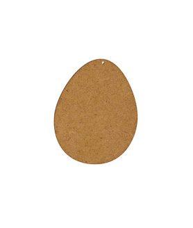 Eлементи за декорация  от МДФ яйце 100 x 80 x 2 mm