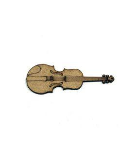 Eлементи за декорация  от МДФ цигулка 100 x 40 x 2 mm