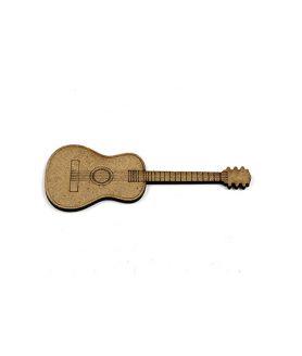 Eлементи за декорация  от МДФ китара 100 x 40 x 2 mm