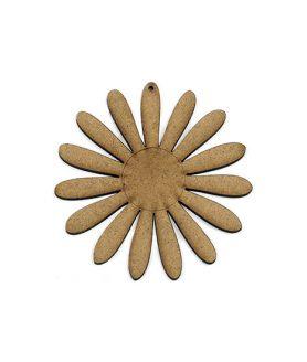 Eлементи за декорация  от МДФ цвете 100 x 2 mm