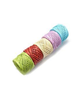Хартиен шнур 3~5 mm АСОРТЕ