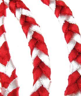 Ширит - бял и червен 8 x 3.5 mm