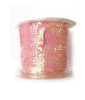 Ширит пайети за декорация 6 mm