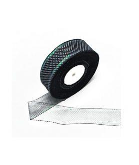 Лента органза за декорация 40 mm
