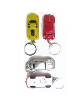 Ключодържател кола светеща асорте 55 mm