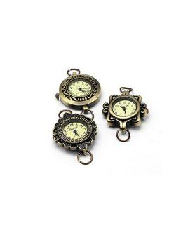 Метален часовник  27~32 x 28~34 x 7~8 mm АСОРТЕ