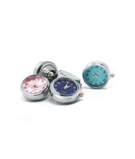 Метален часовник кварц 24 x 21 x 5 mm АСОРТЕ