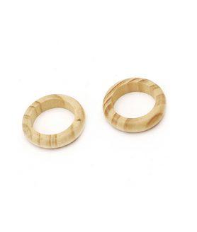 Дървен пръстен 28 x 7 mm