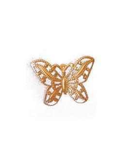 Висулка метална пеперуда 30 x 43 mm