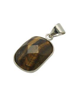 Висулка от естествен камък Тигрово око 17 x 37 x 6 mm