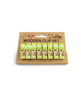 Дървени щипки за декорация  45 x 12 mm