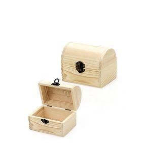 Дървено сандъче 120 х 80 х 90 mm