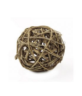 Суха топка от ратан за декорация 98 x 98 x 98 mm