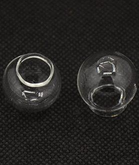 Стъклена сфера за декорация 22 x 20 mm