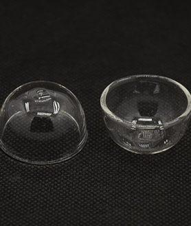 Стъклена полусфера за декорация 16.5 x 30 mm