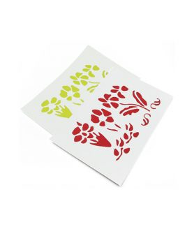 Комплект EVA материал тип пъзел с шаблон цветя