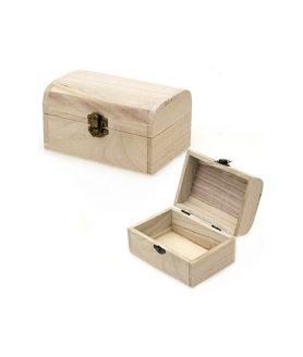 Дървено сандъче 140 х 93 х 78 mm