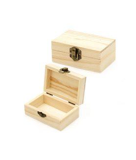 Дървена кутия 110 x 70 x 45 mm