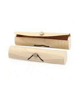 Дървена кутия с закопчалка ластик 220 х 50 mm
