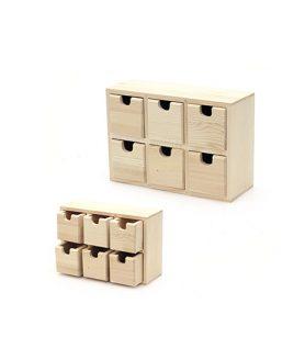 Дървена кутия 210 x 75 x 145  mm