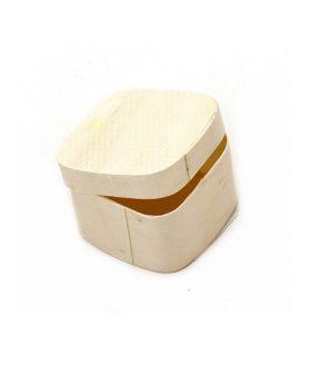 Дървена кутия за декорация 50 x 50 x 30 mm